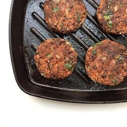 Black Bean Burgers -1-1
