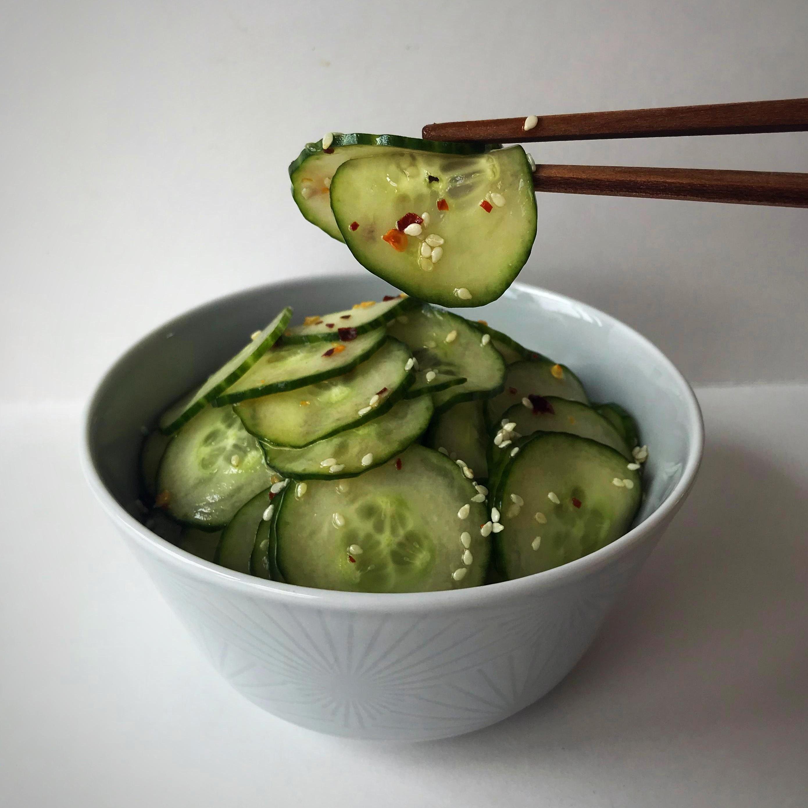 Low FODMAP Vegetables - Cucumber