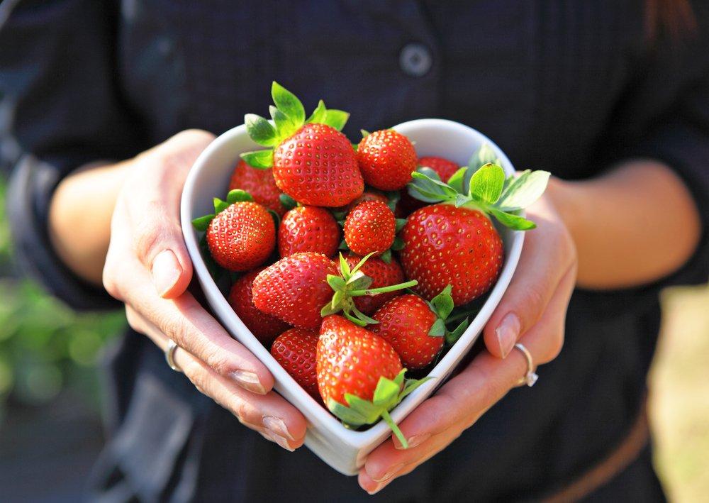 Low FODMAP Fruits - Strawberries
