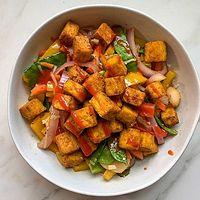 Vegan Crispy Tofu Stir Fry Resized