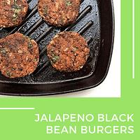 jalapeno black bean burgers