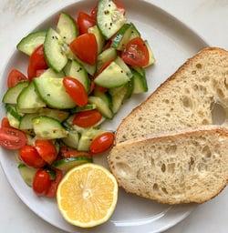 low fodmap tomato cucumber salad 3